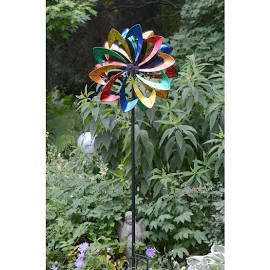 Wind Powered Light Up Spinner