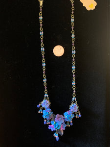 Twilight Floral Necklace