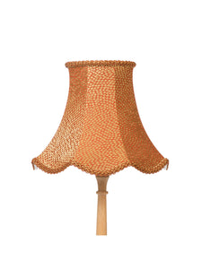 Rusted Gold Tesserae Bell Lampshade – 30cm/12""