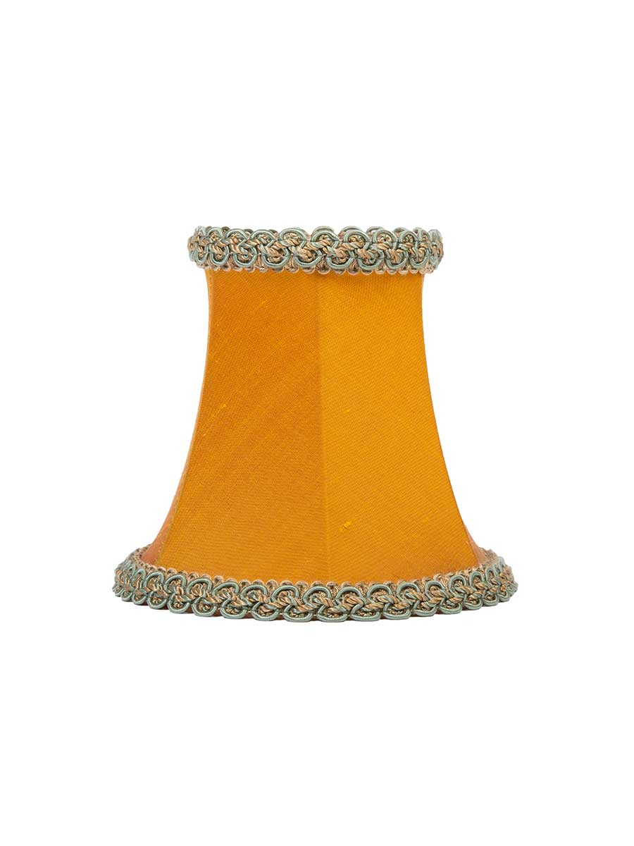 SIENNA SILK BOWED EMPIRE LAMPSHADE - 14cm/5""