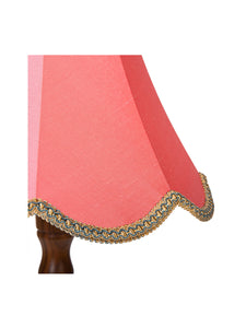 Bubble Gum Silk Chimney Bell Lampshade – 35cm/14""