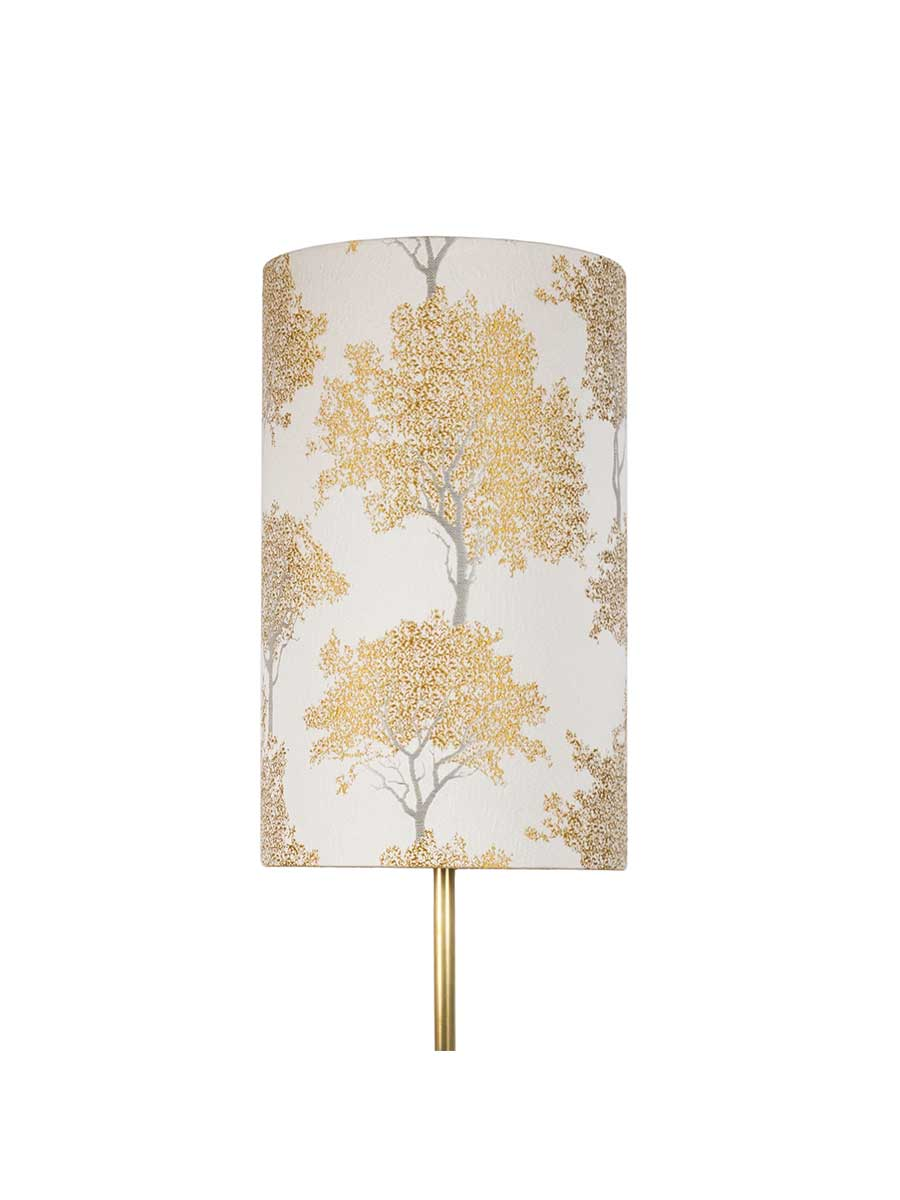 Winter Tree Tall Cylinder Lampshade – 25cm/10