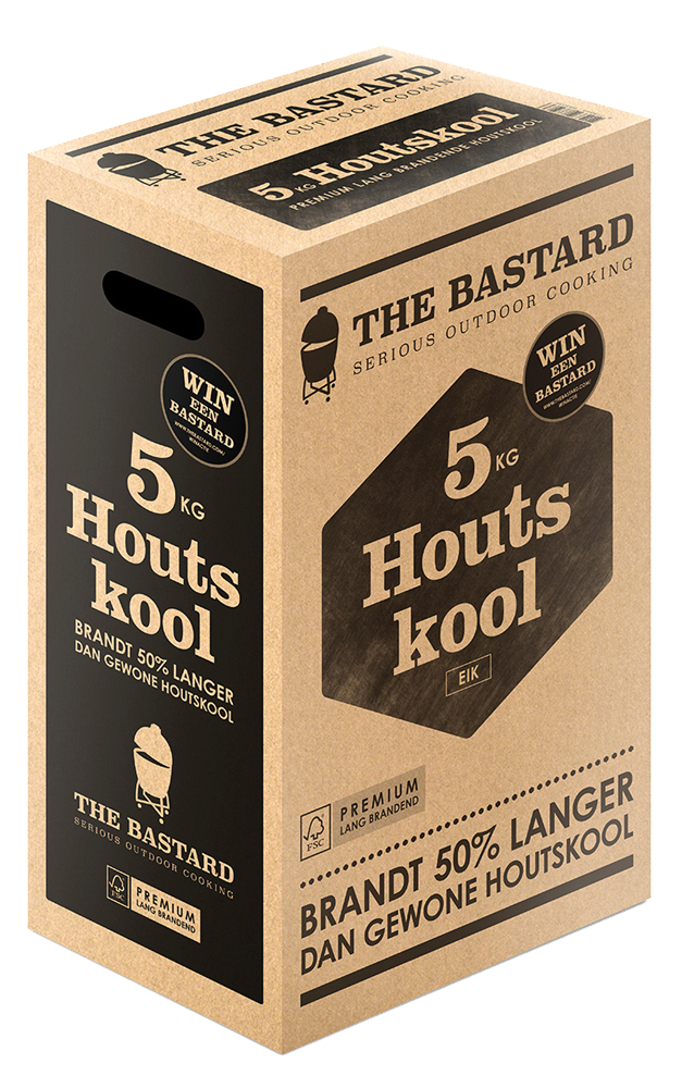 The Bastard Charcoal 5kg