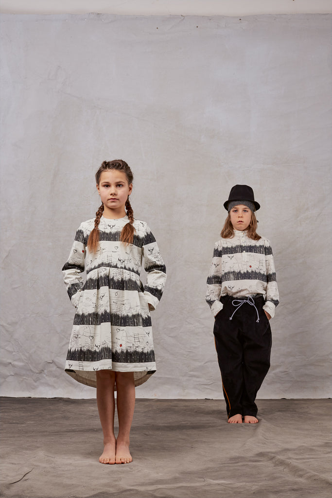 Black&white styles by Hilda.Henri for girls and boys