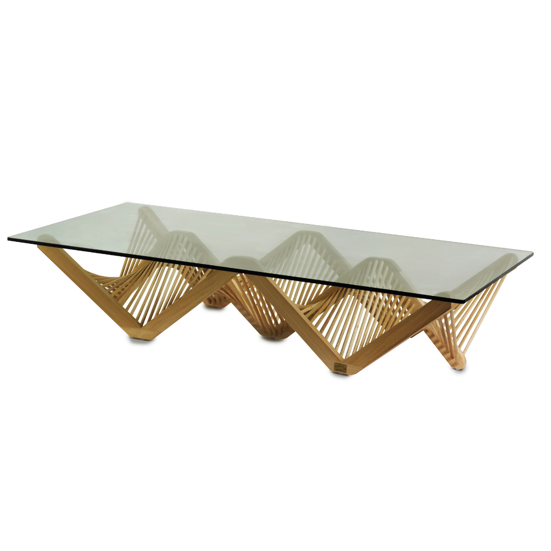 GEO RECTANGULAR Cocktail Table
