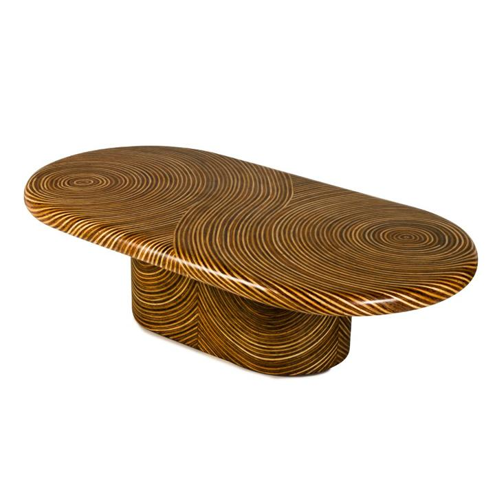 SHOWTIME RIBBON (Cocktail Table, Oval)