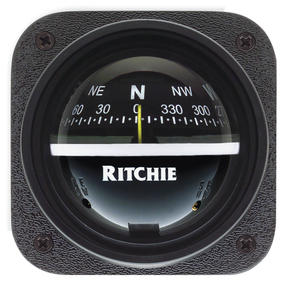 Adjustable Ritchie Explorer Compass Bulkhead Mounting Hole Black Dial Hardened Steel