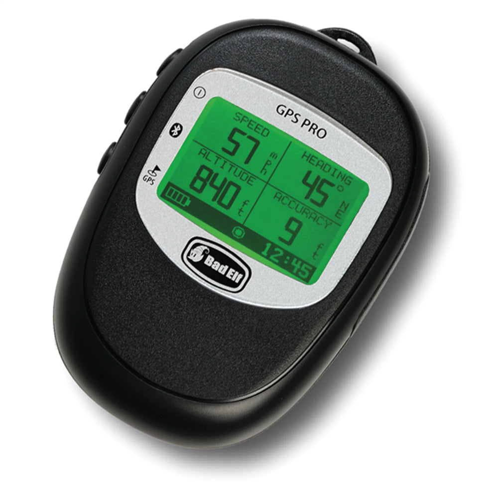 Bad Elf GPS Pro Bluetooth Data Logger Large LCD Screen w/ Backlight