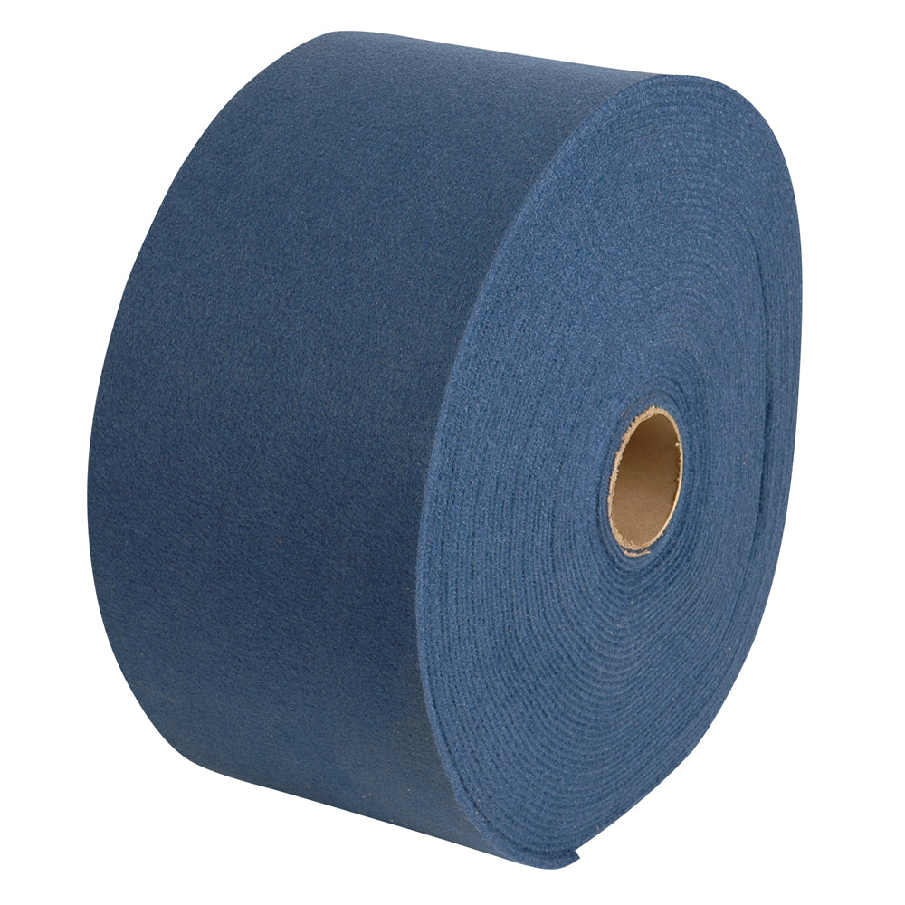 CE Smith Blue 11 Inch Wide Cover Long Marine Grade Carpet Roll Weather Resistant