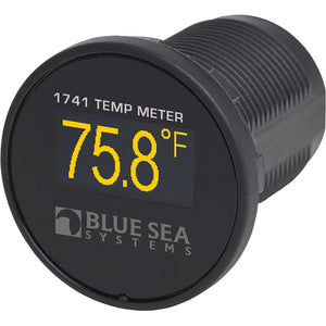 Blue Sea 1741 Mini OLED Electrical Temperature Meter  Protected Reverse Polarity