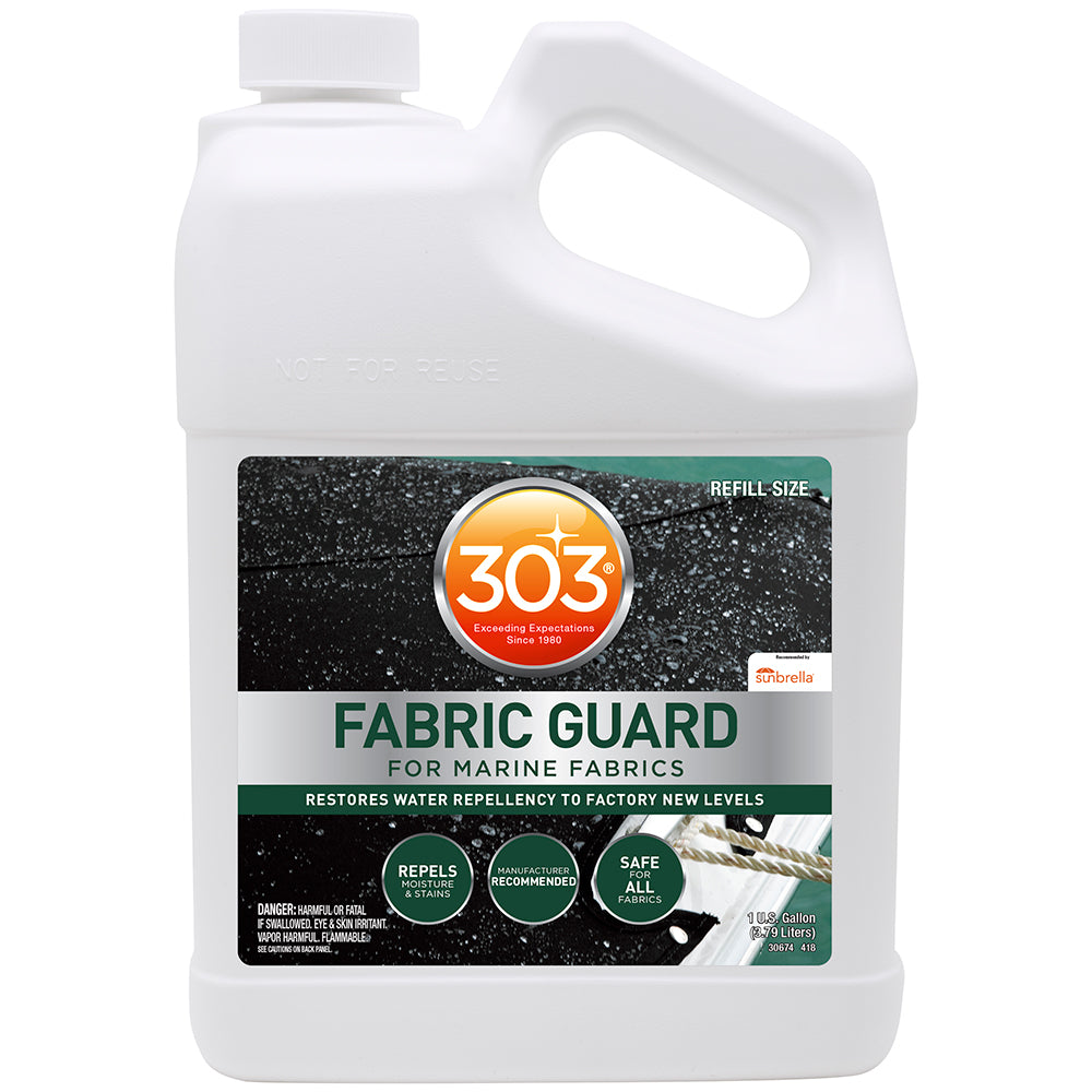 303 Marine Fabric Protector Spray  Guard 1 Gallon Outdoor Elements & Rains