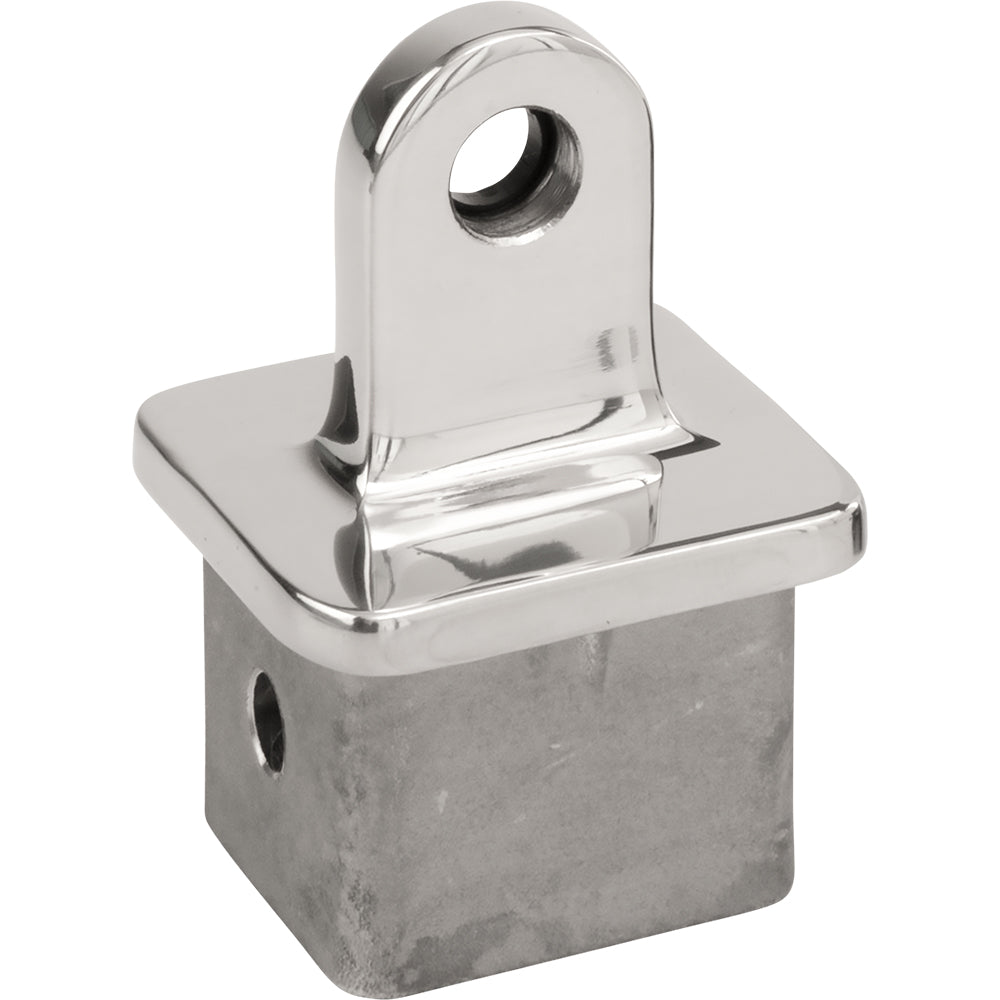 Sea-Dog Stainless Square Tube Top Fitting Attachment Piece Bimini Top Holder