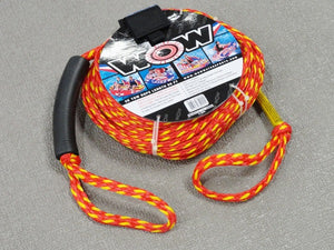 60' Tow Rope 2K Watersports Floats Tubes Tubing Water Ski Sport Boat Cord Strong