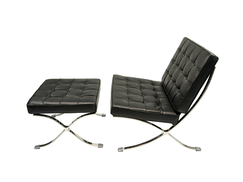 barcelona style furniture. meubles newell furniture barcelona chair black style r