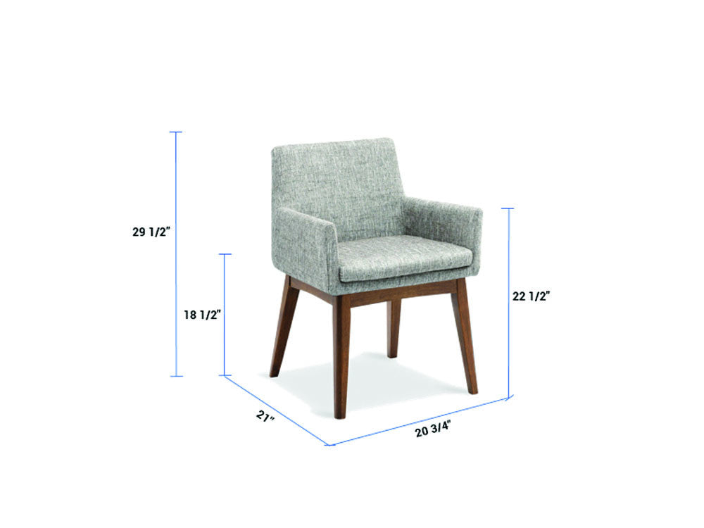 Newell furniture chanel armchair coral meubles for Meubles newell montreal