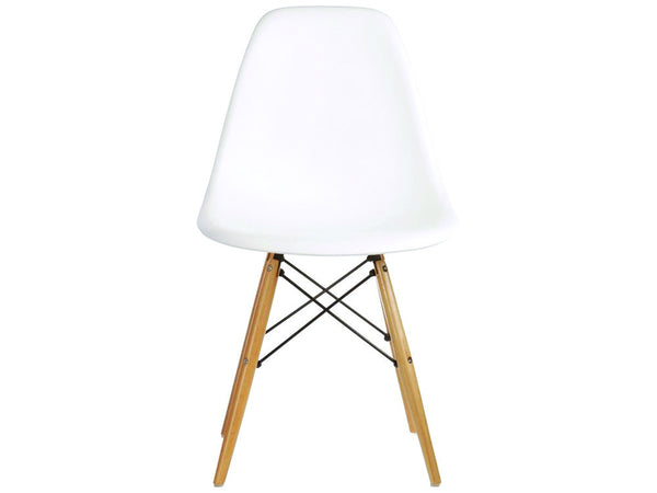 Newell furniture eames style dsw chair white meubles for Meuble eames