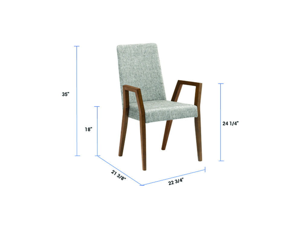 Newell Furniture MELVIE Armchair Coral Meubles