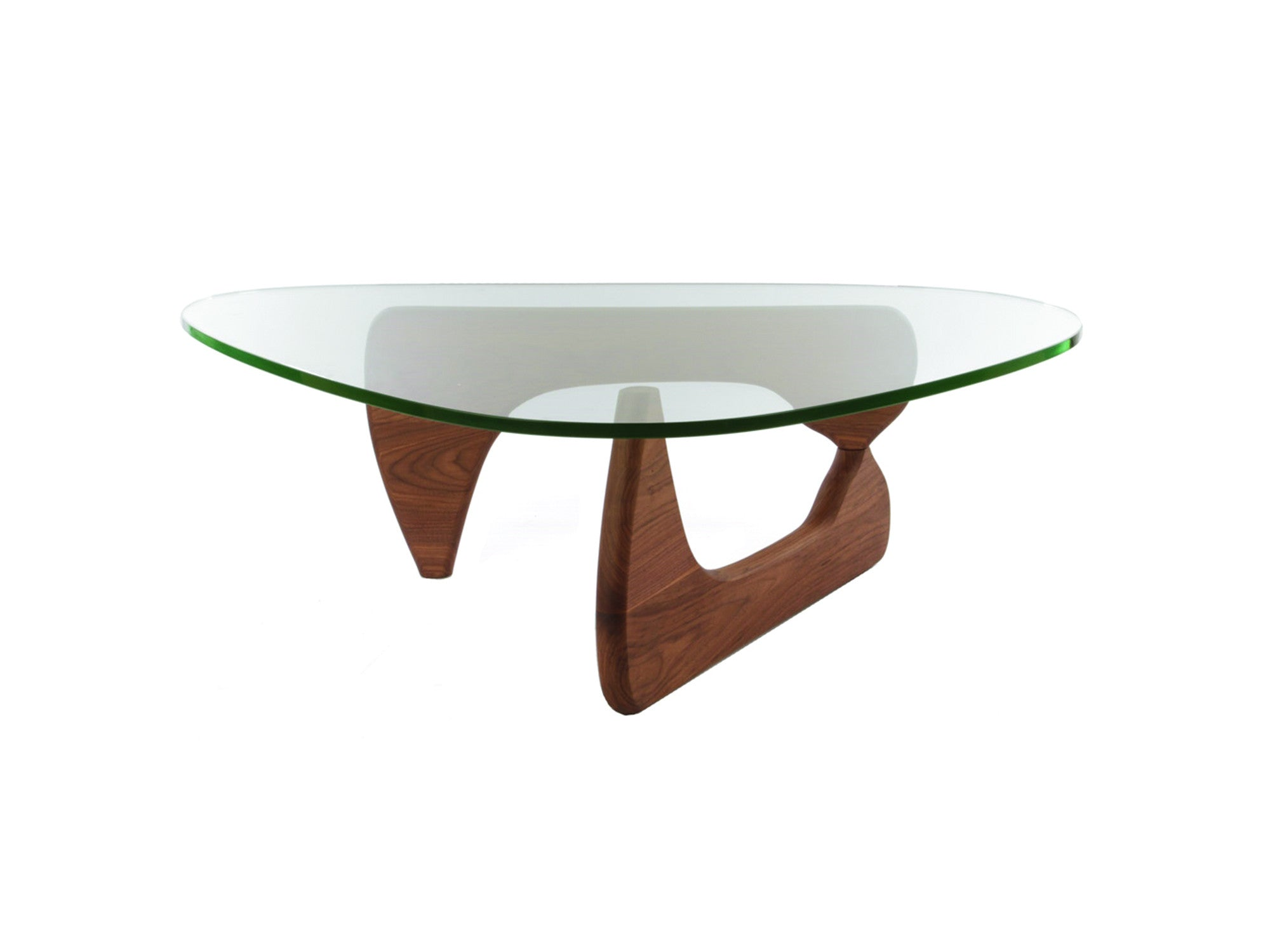 Newell Furniture Noguchi Style Coffee Table Walnut Meubles Newell Furniture