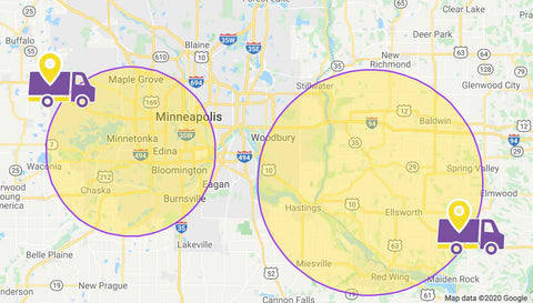 Local Honey Delivery MN and WI