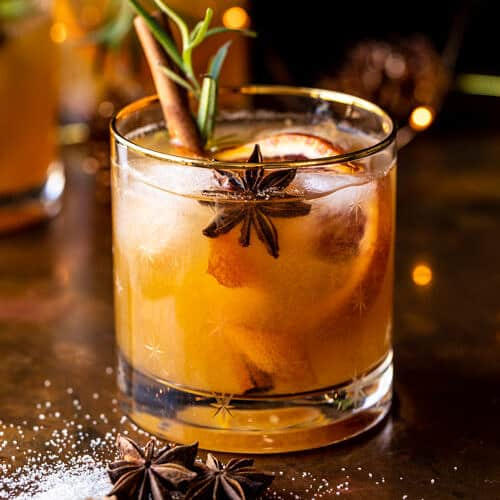 Holiday cocktail- Old Fashioned