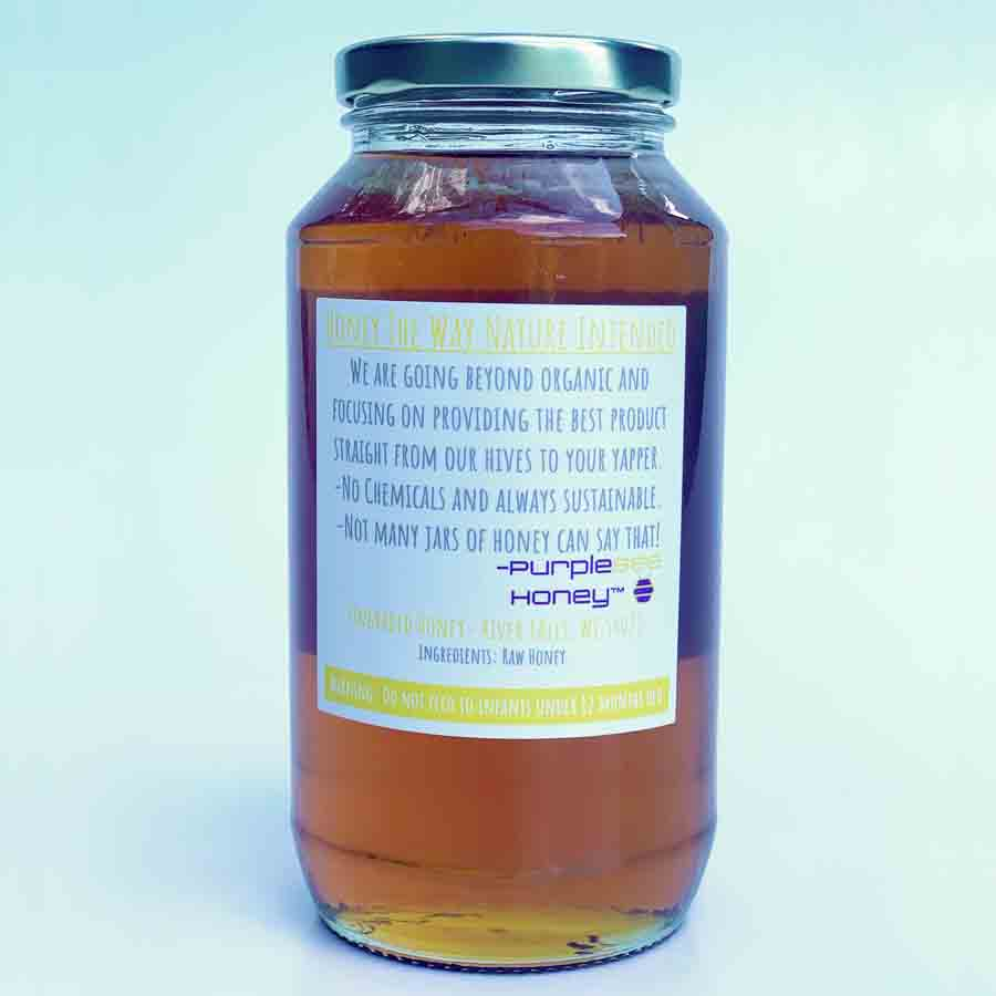 Midwest Raw Honey- Wildflower 36oz Unfiltered