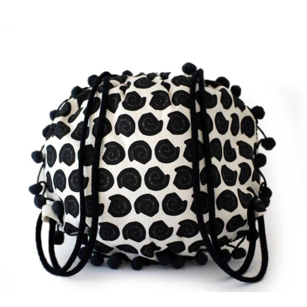 Up-cycled Rubber Circle Bag