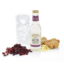 Load image into Gallery viewer, Double Dutch Cranberry & Ginger Tonic