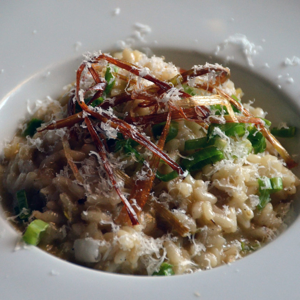 Leek & Spring Onion Risotto