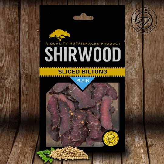 Shirwood Biltong - Thick Cut Beef Plain