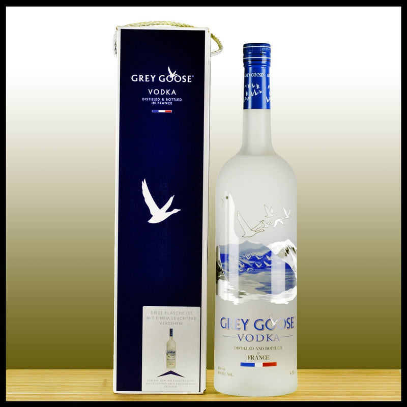 Grey Goose Vodka 4,5L - 40% - Trinklusiv