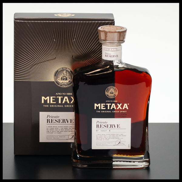 Metaxa Private Reserve 0,7L - 40% - Trinklusiv