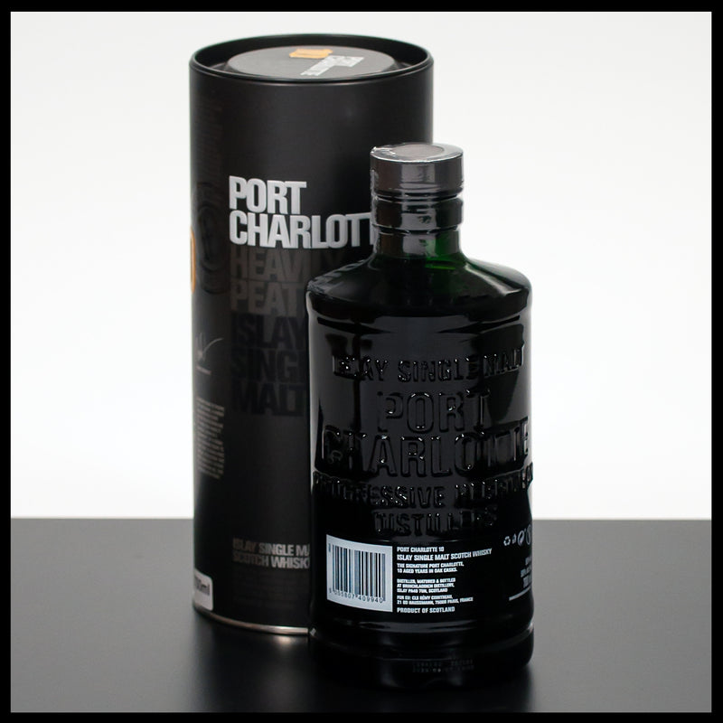 Port Charlotte 10 YO Heavily Peated 0,7L - 50% - Trinklusiv