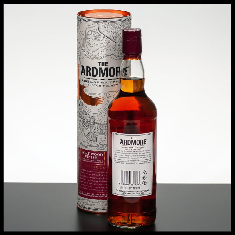 The Ardmore 12 YO Port Wood Finish 0,7L - 46% - Trinklusiv