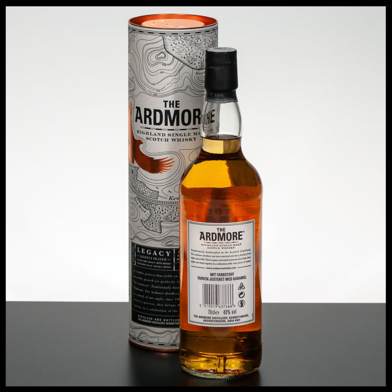 The Ardmore Legacy 0,7L - 40% - Trinklusiv
