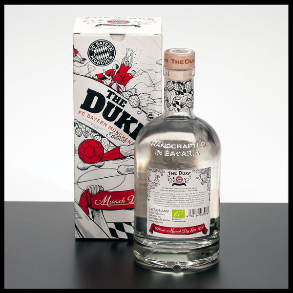 The Duke Gin FC Bayern München Edition 0,7L - 42% - Trinklusiv