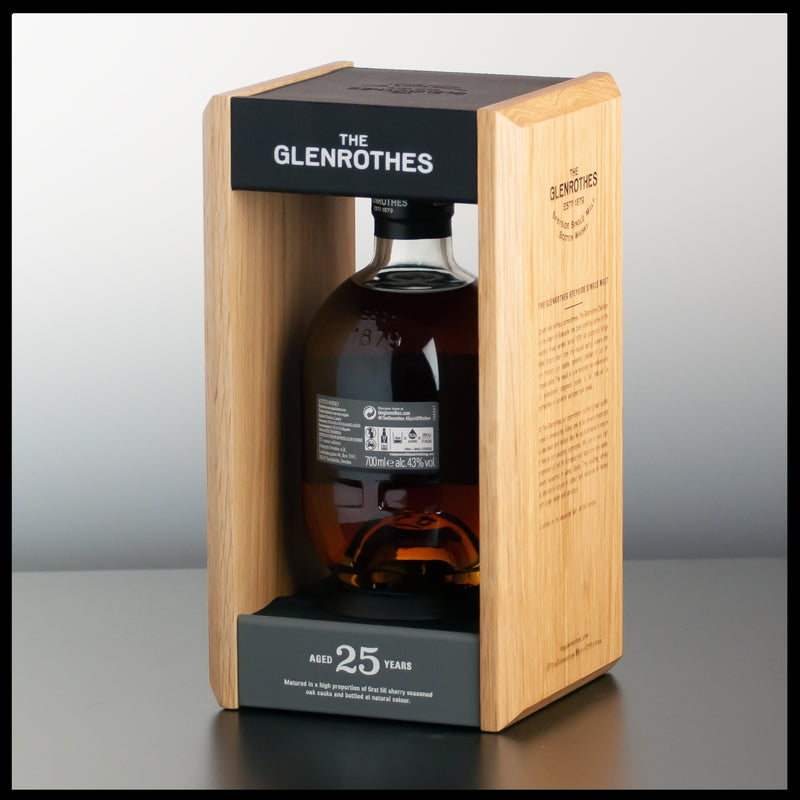 The Glenrothes 25 YO 0,7L - 43% - Trinklusiv