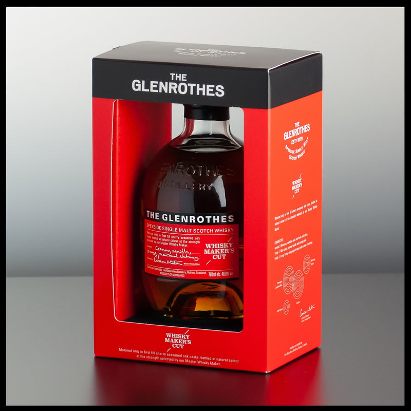 The Glenrothes Maker's Cut 0,7L - 48,8% - Trinklusiv