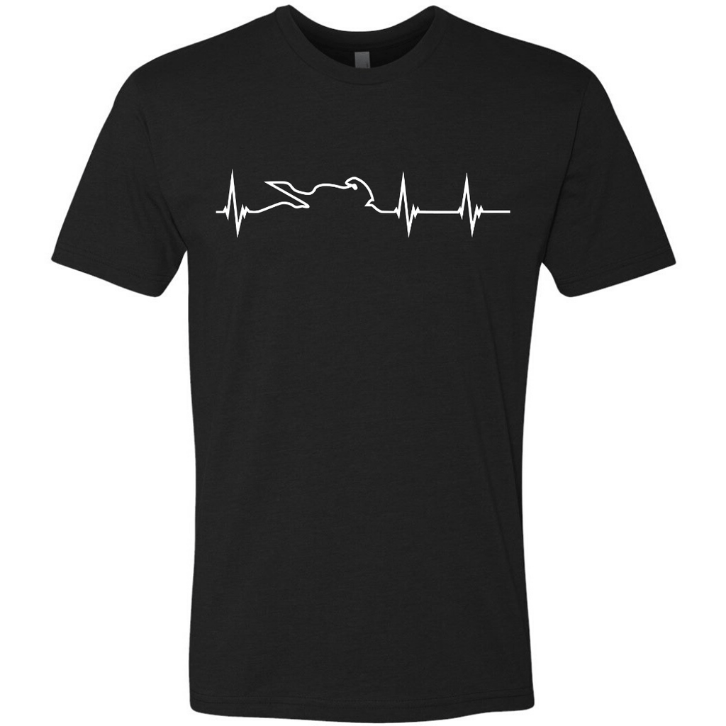 Men's Heartbeat Tee (WHITE)