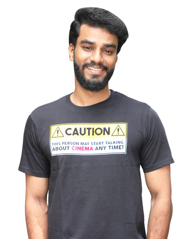 Caution Cinema Quali-Tee