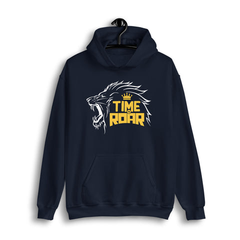 Time to Roar | CSK Tribute Hoodie