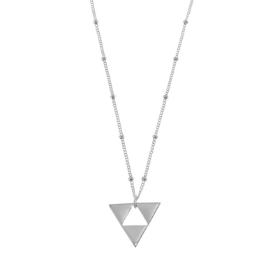 Harmony Triangle Necklace