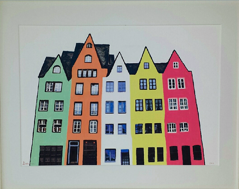Bright Houses - Limited Edition Prints