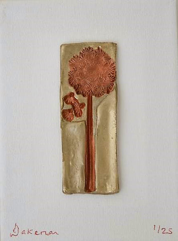 Dandelion Wishes Rose Gold - Sculpture Art