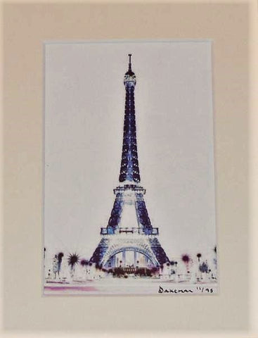 Eiffel Blue - Limited Edition Prints