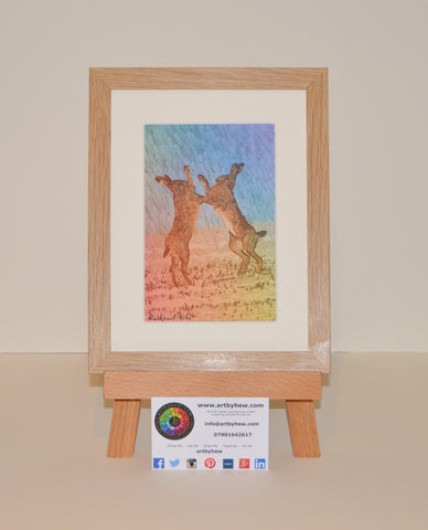 Boxing Hares - Limited Edition Prints