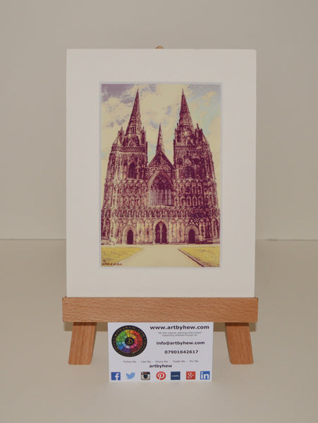 Lichfield Cathedral - Limited Edition Prints
