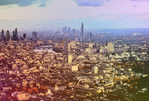 London From Afar - Limited Edition Prints