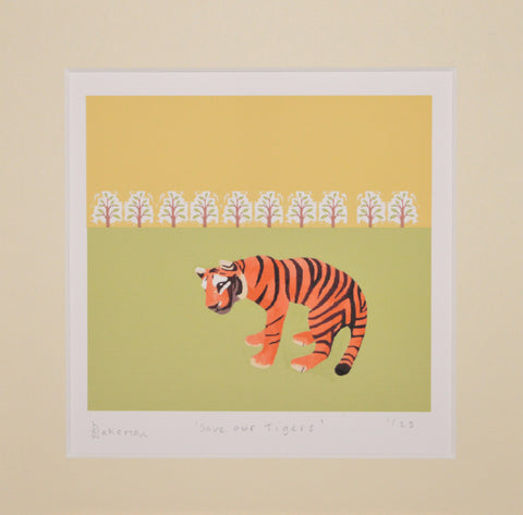 #saveourtigers - Limited Edition Prints