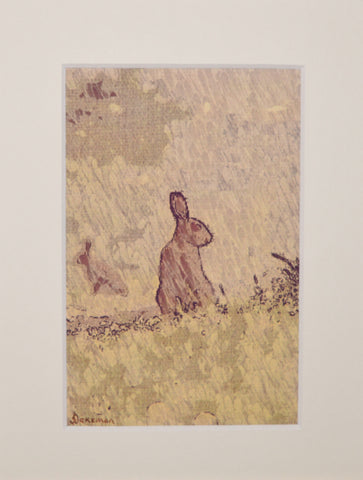 Hare From Afar - Limited Edition Print