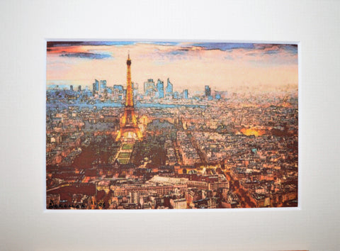 Paris From Afar - Limited Edition Prints